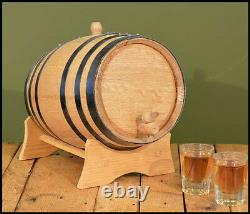 USA Made 1l 20l White Wood Whiskey Chêne Barrel Pour Le Vieillissement Whiskey & Spirits