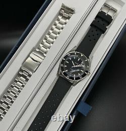 Vaer D5 Atlantic USA Dive Automatic Ss Bracelet Tropic Band Full Kit Montre Homme