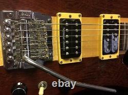 Vintage Handmade 1984 B.c. Rich USA Mockingbird Deluxe Rare Bernie Rico Guitare